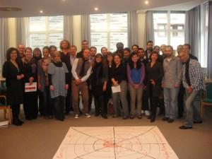Teilnehmer/innen des Leadership-Programms für junge Führungskräfte der Bertelsmann Stiftung